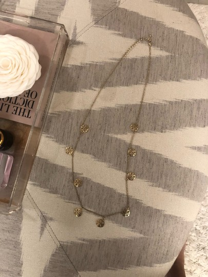 Tory Burch logo necklace Image 4