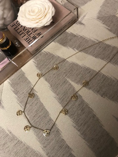 Tory Burch logo necklace Image 5
