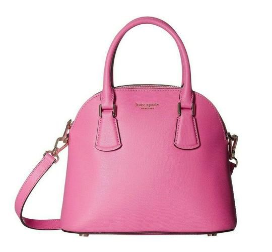 Preload https://img-static.tradesy.com/item/25839226/kate-spade-new-year-medium-sylvia-dome-hibiscus-tea-pink-leather-satchel-0-0-540-540.jpg