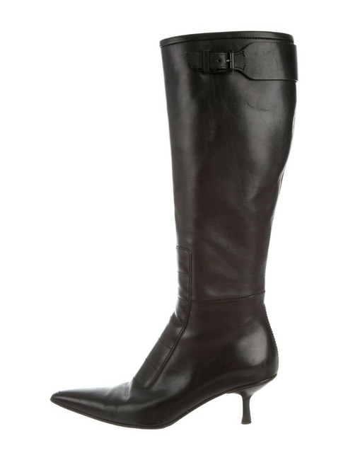 Item - Black Knee High Boots/Booties Size EU 36 (Approx. US 6) Wide (C, D)