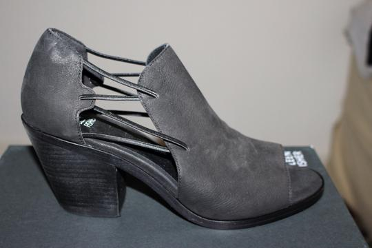 Eileen Fisher Crossover Peep Toe Black Boots Image 3