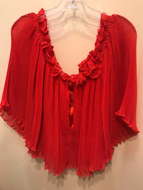 alice McCALL Top red Image 3