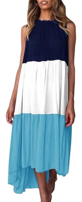 Blue Maxi Dress by Blu Trends Image 0
