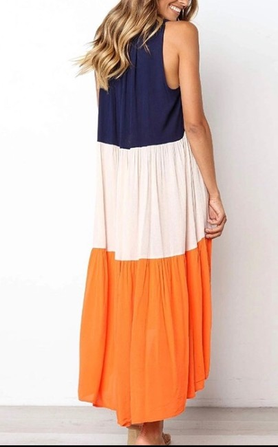 Blue Maxi Dress by Blu Trends Image 2