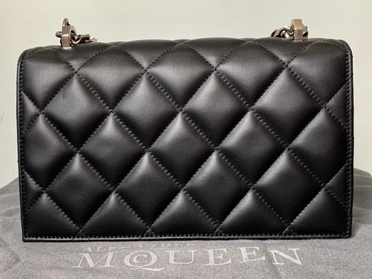 Alexander McQueen Jeweled Skull Duster Cross Body Bag Image 4