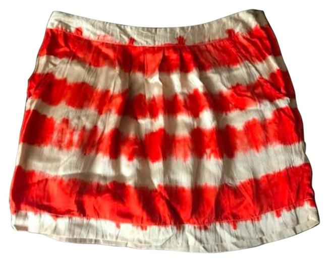 Item - Orange Tie-die Skirt Size 4 (S, 27)