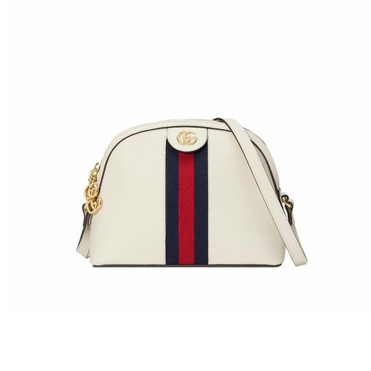 Preload https://item2.tradesy.com/images/gucci-shoulder-ophidia-small-white-leather-cross-body-bag-25839471-0-2.jpg?width=440&height=440
