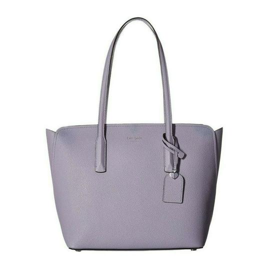 Preload https://img-static.tradesy.com/item/25839758/kate-spade-bag-new-york-medium-margaux-frozen-lilac-leather-tote-0-0-540-540.jpg