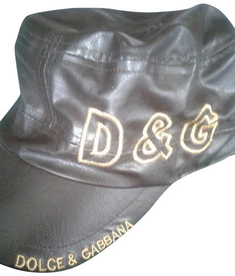 Preload https://img-static.tradesy.com/item/25839932/dolce-and-gabbana-brown-gold-dolce-and-gabbana-hat-0-1-540-540.jpg