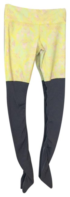 Item - Yellow Grey Activewear Bottoms Size 8 (M)