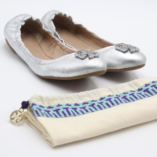 Tory Burch Office Working Moms In The Business Casual Professionals Silver Flats Image 1