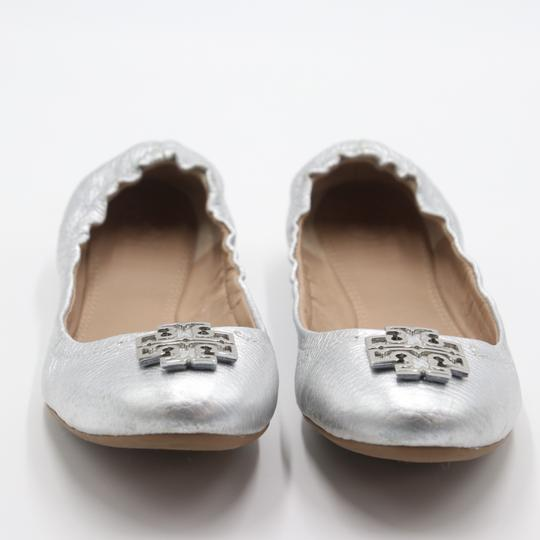 Tory Burch Office Working Moms In The Business Casual Professionals Silver Flats Image 2