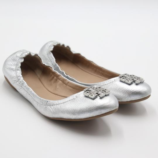 Tory Burch Office Working Moms In The Business Casual Professionals Silver Flats Image 3