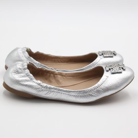 Tory Burch Office Working Moms In The Business Casual Professionals Silver Flats Image 4