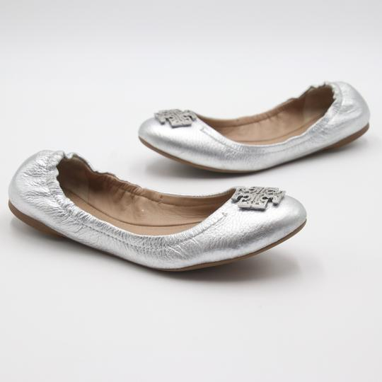 Tory Burch Office Working Moms In The Business Casual Professionals Silver Flats Image 5