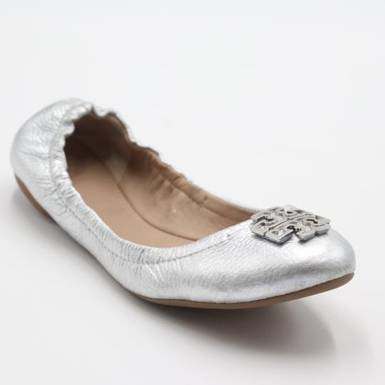 Tory Burch Office Working Moms In The Business Casual Professionals Silver Flats Image 6