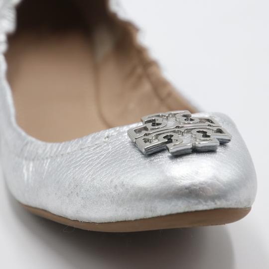 Tory Burch Office Working Moms In The Business Casual Professionals Silver Flats Image 7