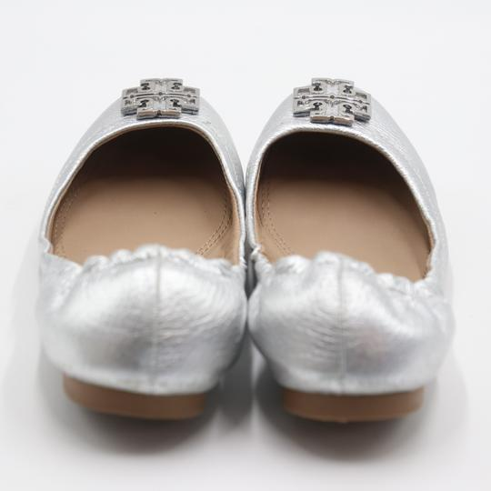 Tory Burch Office Working Moms In The Business Casual Professionals Silver Flats Image 8