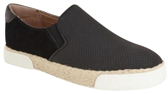 Item - Black and Tan Banks Espadrille Suede Sneakers Size US 8.5 Regular (M, B)