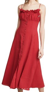 C/meo Collective short dress Red on Tradesy