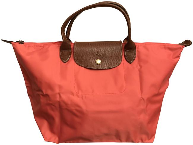 Item - Le Pliage Orange Nylon Satchel