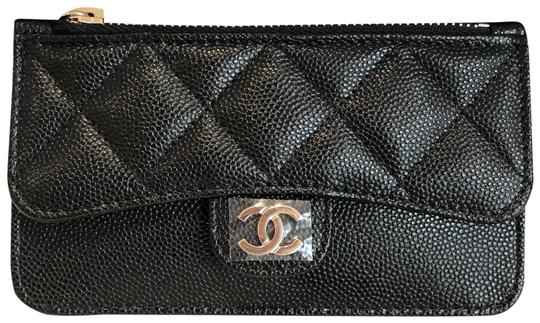 Preload https://img-static.tradesy.com/item/25840808/chanel-black-new-grained-calfskin-caviar-classic-card-holder-gold-metal-19b-wallet-0-1-540-540.jpg