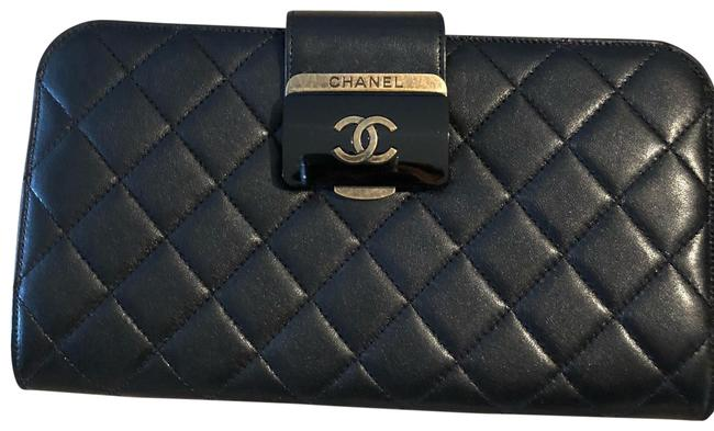 Chanel Black Leather Clutch Chanel Black Leather Clutch Image 1