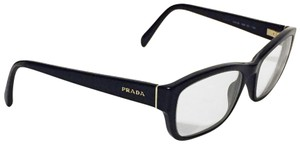 Prada Black full rim rectangular VPR 18o eyeglasses