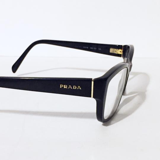 Prada Black full rim rectangular VPR 18o eyeglasses Image 1