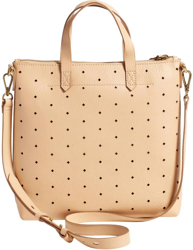 ddde904645a3 Madewell Mini Transport Perforated Linen Leather Cross Body Bag 57% off  retail