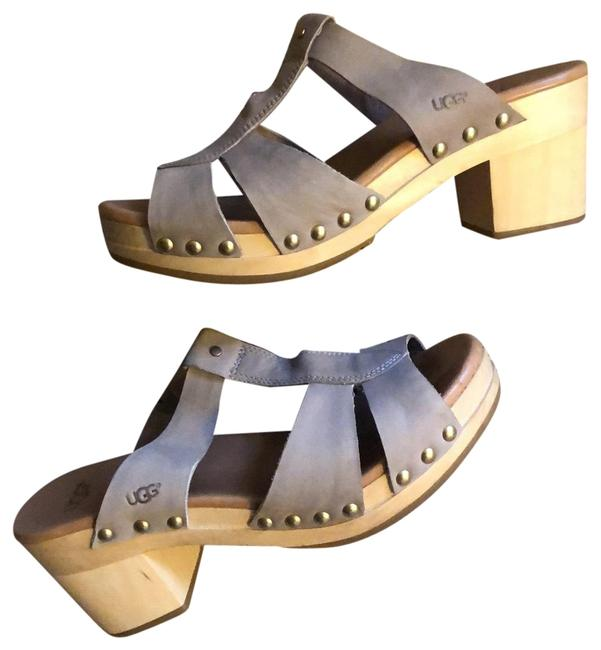 Item - Nude Jennie Sandal Mules/Slides Size US 7 Regular (M, B)