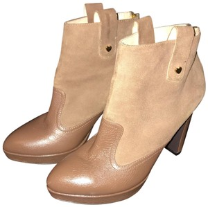 Moschino Tan Boots