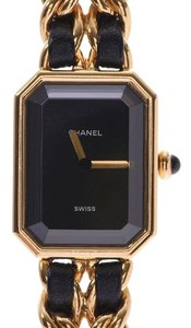 Chanel CHANEL Premiere Size M Gold Plated Quartz Ladies Watch H0001