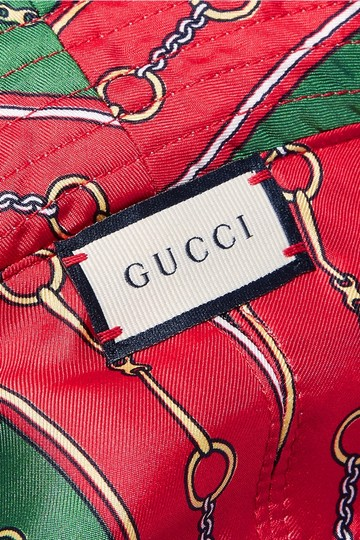 Gucci Gucci Reversible Velvet and Silk Bucket Hat Size Large Image 2