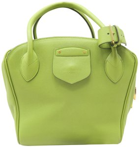 Louis Vuitton Lv Calfskin Haute Maroquinerie Tote in Milaris Green