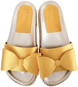 Laurence Dacade Espadrille Yellow Platforms