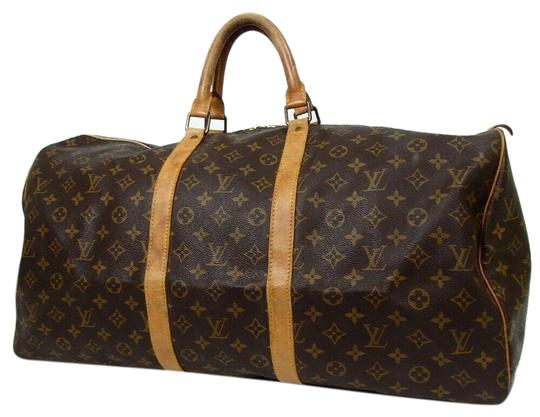 Preload https://img-static.tradesy.com/item/25841953/louis-vuitton-keepall-55-monogram-brown-coated-canvas-weekendtravel-bag-0-1-540-540.jpg