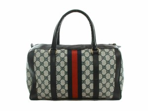 Gucci Made In Italy Gray Travel Bag