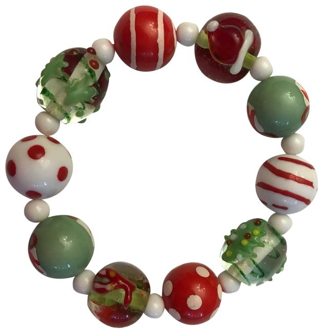 Item - Multicolor New with Out Tag Glass Hand Painted Bracelet