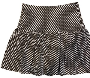 Collective Concepts Mini Skirt black and white