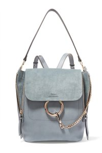 Chloé Faye Washed Leather Backpack