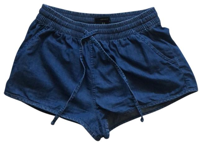 Item - Blue Denim Drawstring Shorts Size 8 (M, 29, 30)