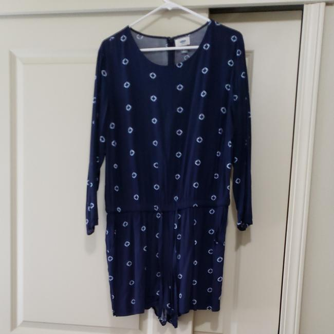 Old Navy Blue Romper/Jumpsuit Old Navy Blue Romper/Jumpsuit Image 1