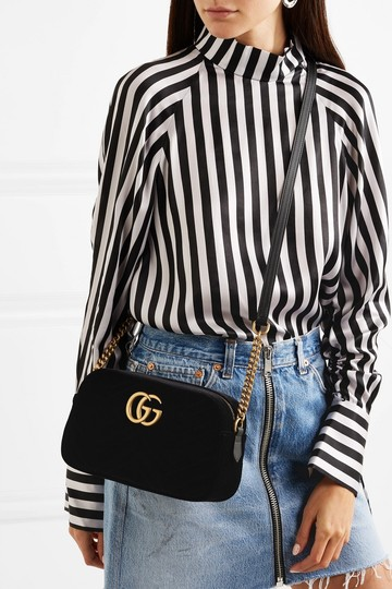 Gucci Marmont Mini Pink Cross Body Bag Image 1