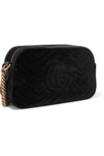 Gucci Marmont Mini Pink Cross Body Bag Image 2