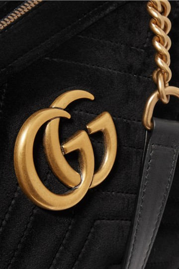 Gucci Marmont Mini Pink Cross Body Bag Image 3