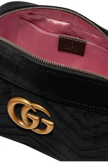 Gucci Marmont Mini Pink Cross Body Bag Image 4