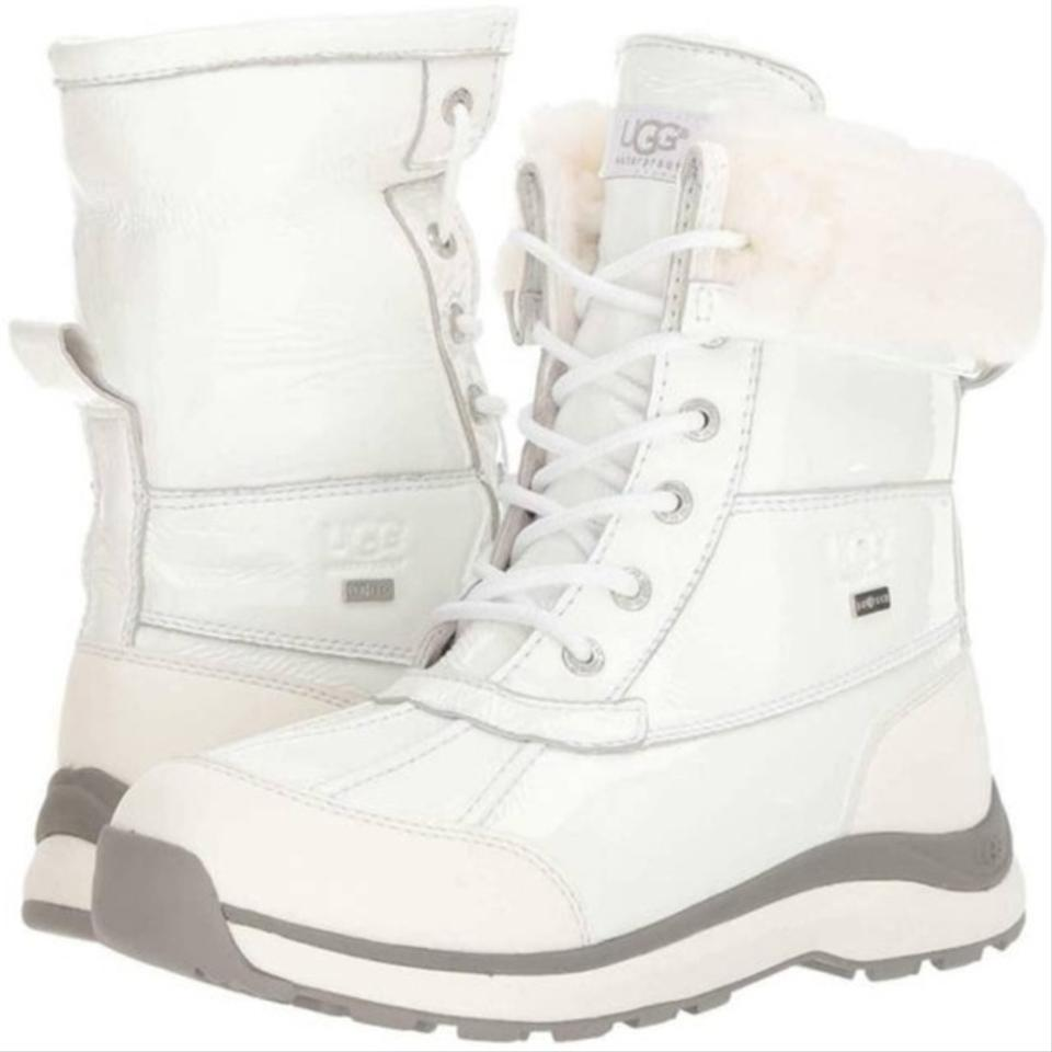 6773dde5837 UGG Australia White Adirondack Iii Patent 2019 Addition Free Shipping  Boots/Booties Size US 7 Regular (M, B) 26% off retail