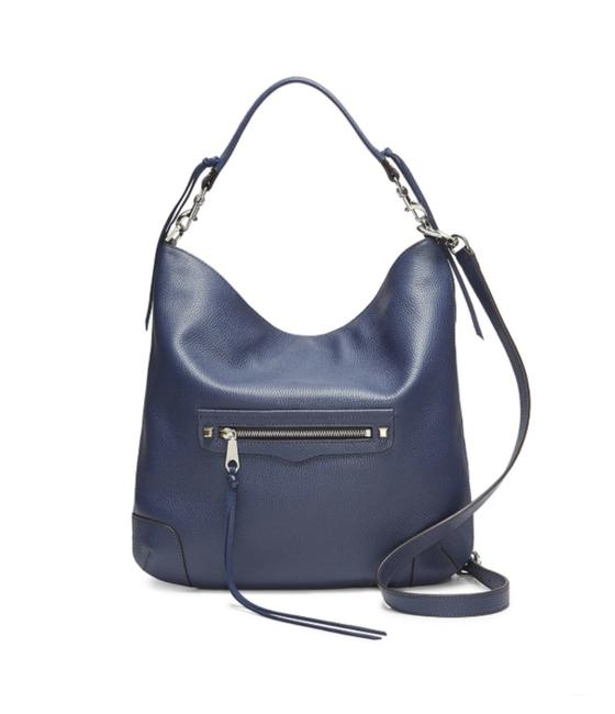 Item - New Slim Regan Twilight Blue Leather Hobo Bag