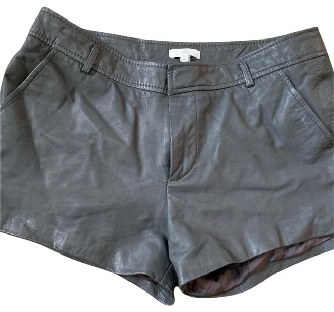 Item - Gray Leather From Shorts Size 4 (S, 27)